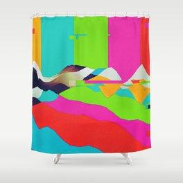 DELETE Shower Curtain