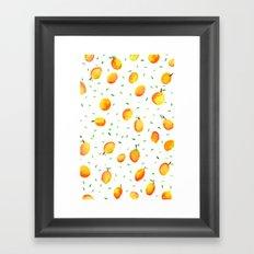 Mango Season Framed Art Print