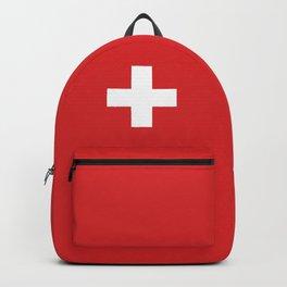 Switzerland Flag Backpack
