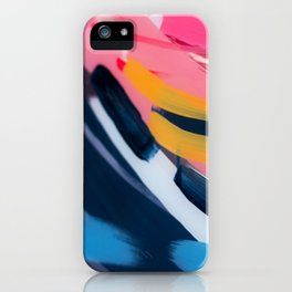 Even After All  #1 - Abstract on perspex by Jen Sievers iPhone Case