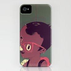 Black-water coconut iPhone (4, 4s) Slim Case