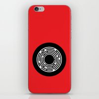 the shining iPhone & iPod Skins featuring Shining by Aurelie Scour