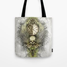 Wings Of Time Tote Bag