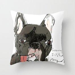 OPD Gary Fisher Throw Pillow
