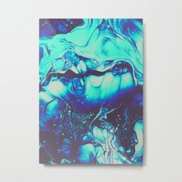 CALM LIKE YOU Metal Print