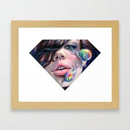 Thirsty Snails Framed Art Print