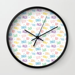 What'd you call me?!?! Wall Clock