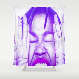 Did you Say Pop Shower Curtain