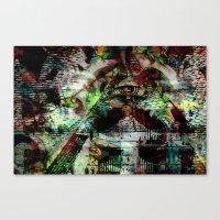 "illuminati Canvas Prints featuring Illuminati by Chris ""MUG5"" Maguire"