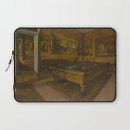Billiard Room at Ménil-Hubert Laptop Sleeve