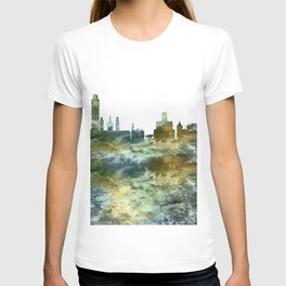 Albany City Skyline T-shirt