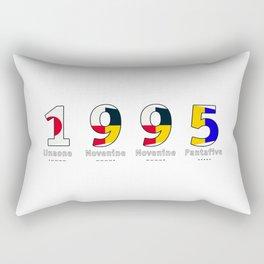 1995 - NAVY - My Year of Birth Rectangular Pillow