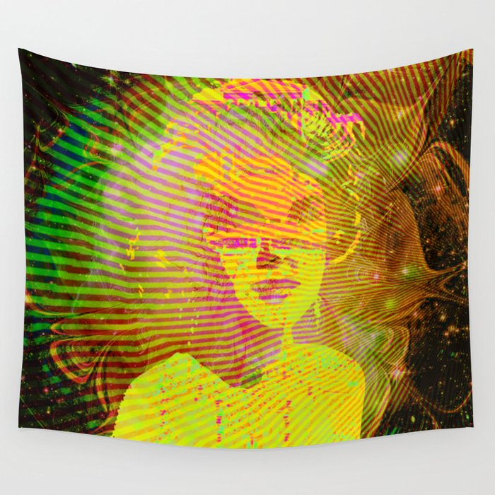 Audio Bleed Wall Tapestry