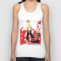reading Tank Tops featuring Reading by Soul of the Moon