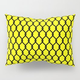 Chain-Link Fence (from Design Machine archives) Pillow Sham