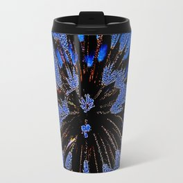 Dew On Dandelion, Wild Mandala Travel Mug