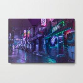 Solitary Stroll Metal Print