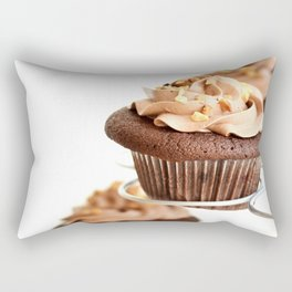 nutella cup cake Rectangular Pillow