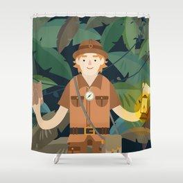 Explorer Shower Curtain
