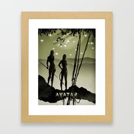 Avatar poster Framed Art Print