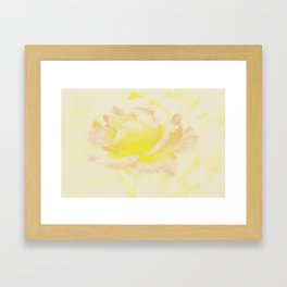 Rose Golden Framed Art Print