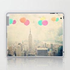 Balloons over the City Laptop & iPad Skin