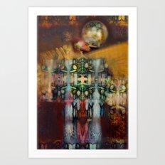 Zero Point VI Art Print