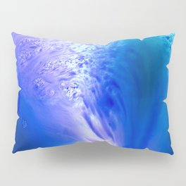 Blue Splash Pillow Sham