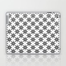 Black and White Custom Pattern 2 Laptop & iPad Skin