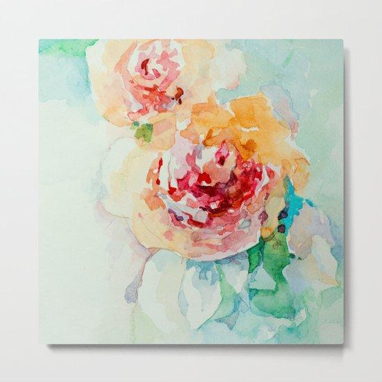 Gentle roses Metal Print