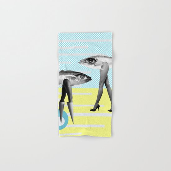 at beach Hand & Bath Towel