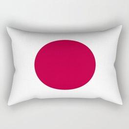 Flag of Japan Rectangular Pillow