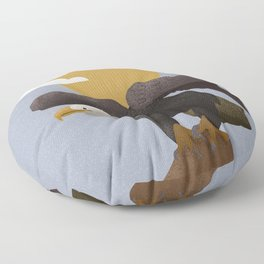 Bald Eagle Floor Pillow