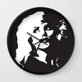 Blondie, Music Legend, Black, White, Cinema, Art, Author, Song Writer, Musician, Punk, Wall Clock
