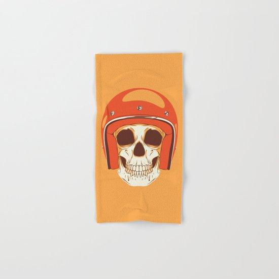 Helmet Skull Hand & Bath Towel