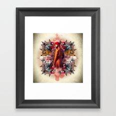 Kaleidoscope India Framed Art Print