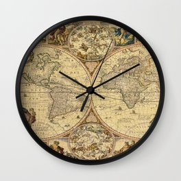 The puzzled world Wall Clock
