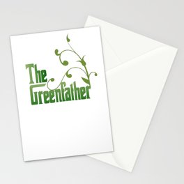 The Greenfather An Earthday Parody Stationery Cards
