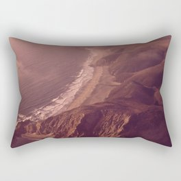 REDWOOD FORESTS COVER MUCH OF THIS REGION OF NORTHERN CALIFORNIA NARA 543045 Rectangular Pillow
