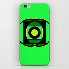 The Lantern's Glow iPhone & iPod Skin