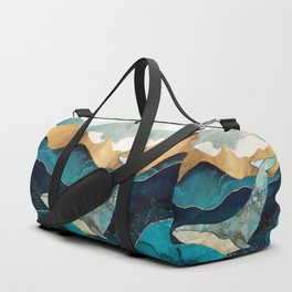 Blue Whale Duffle Bag