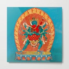 Tantric Deity Sahaja Heruka Chakrasamvara 1 Metal Print