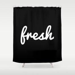 Fresh Handwritten Shower Curtain