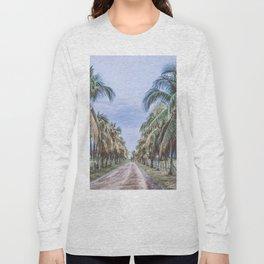 Costa Rican Palms Long Sleeve T-shirt