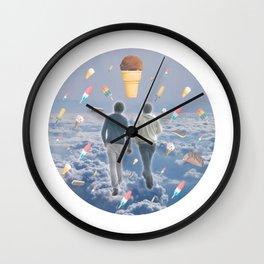 Bill & Nick's Ice Cream Adventure! Wall Clock