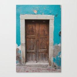 Mexican Door 1 Canvas Print