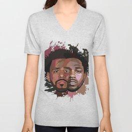 Kendrick Lamar J cole Portrait Unisex V-Neck