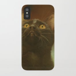 Gazing iPhone Case