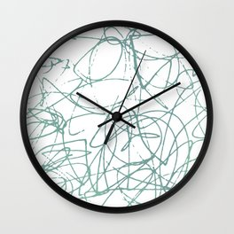 The Inside of My Mind Wall Clock