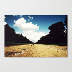 Open Road, Louisiana Canvas Print
